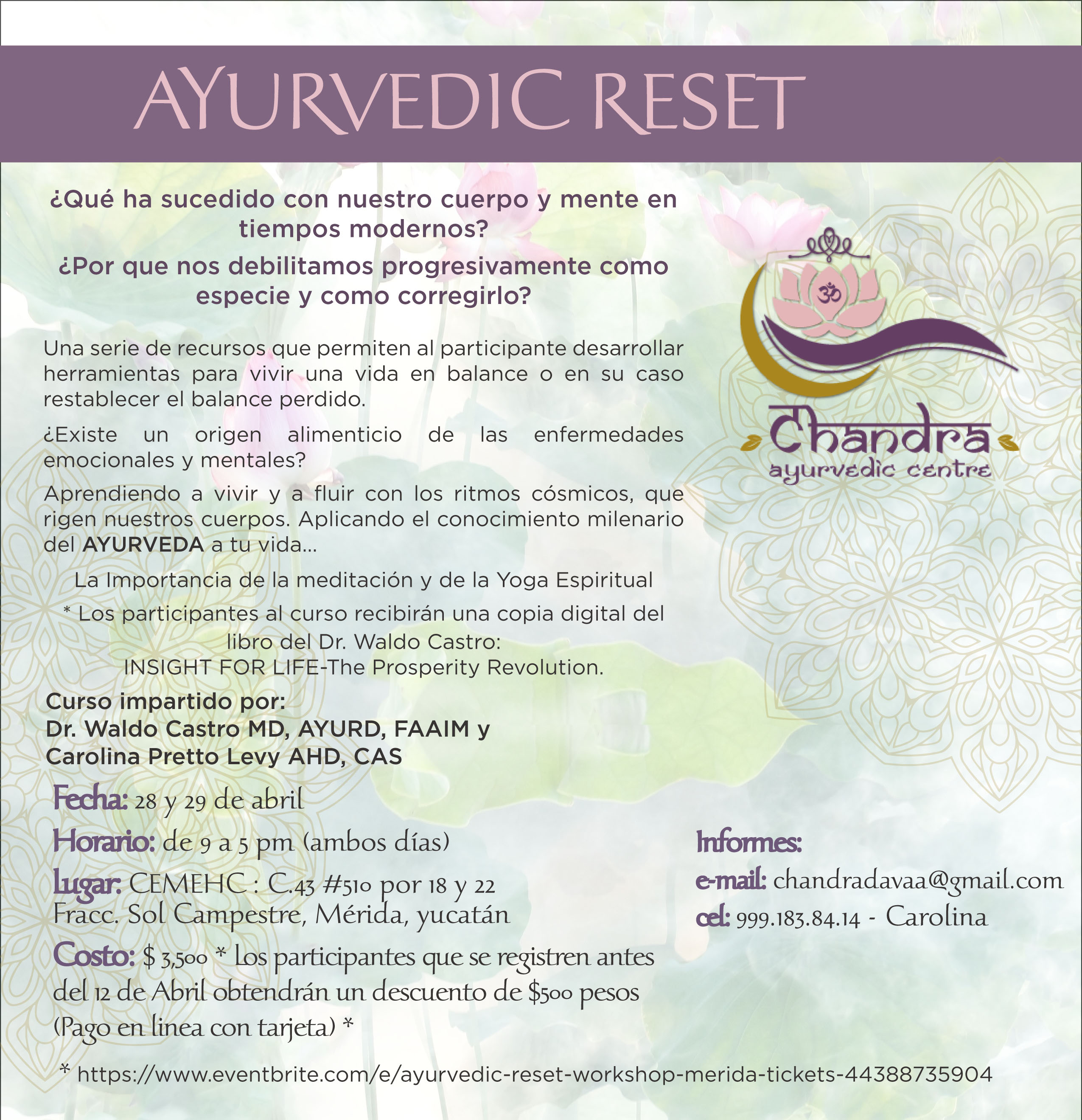 Ayurvedic Reset